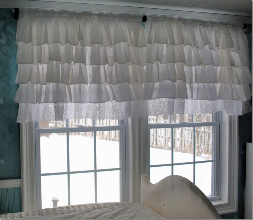 Teenage Girl Bedroom Curtains | Ruffle Blackout Curtains | Pink Ruffle Blackout Curtains