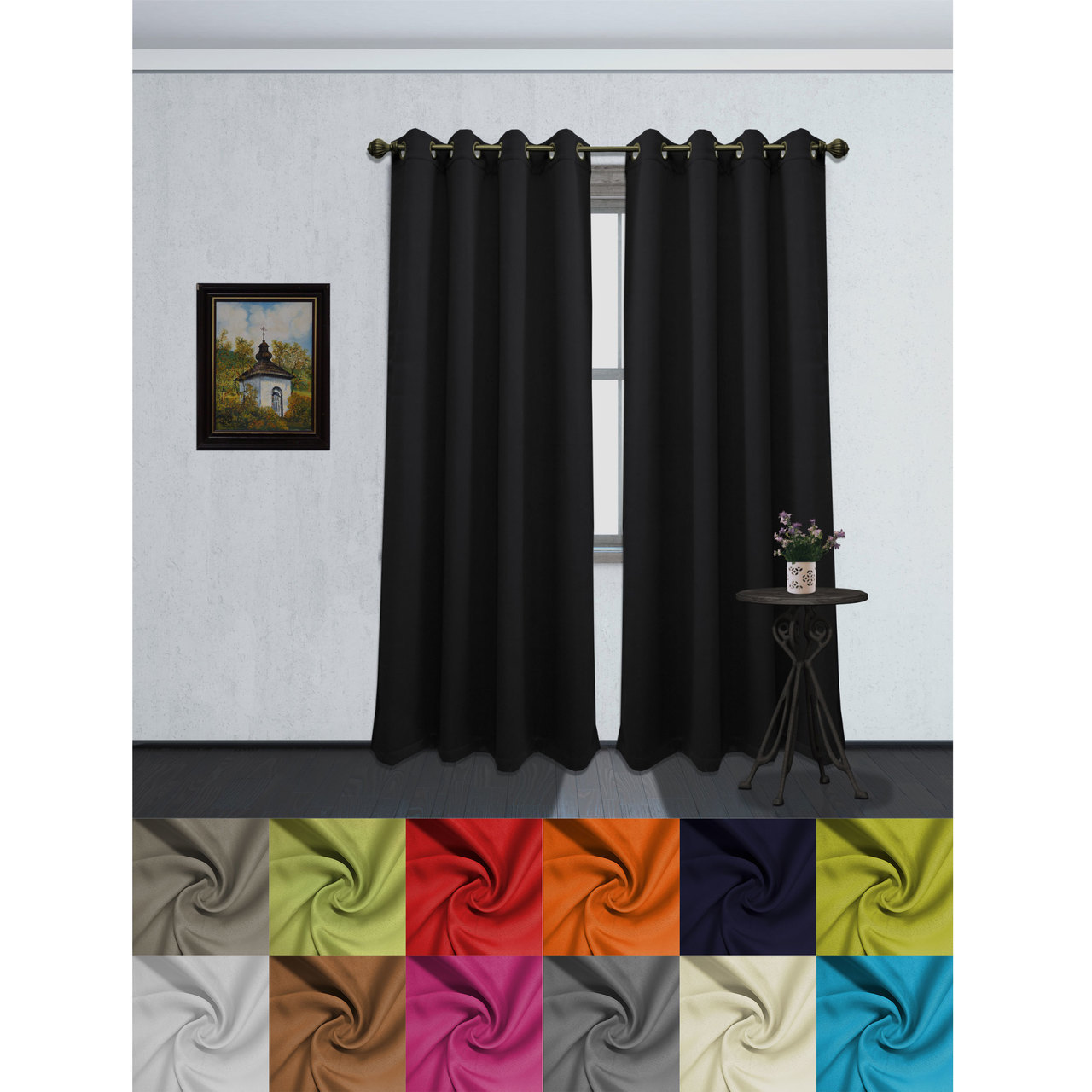 Thermal Backed Curtains Sale | Thermal Window Coverings | Thermal Insulated Curtains