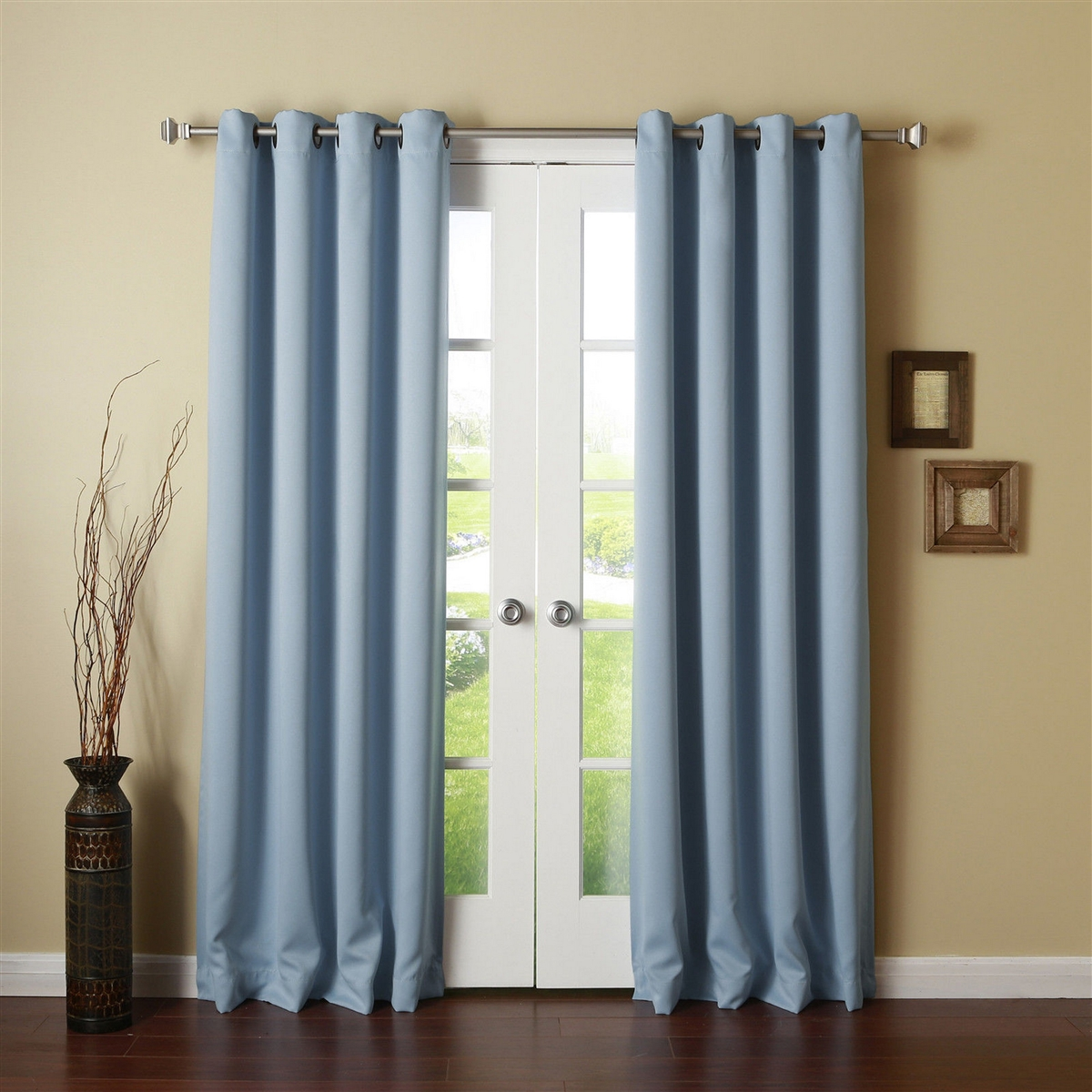 Thermal Backed Drapes | Thermal Curtains Grommet | Thermal Insulated Curtains