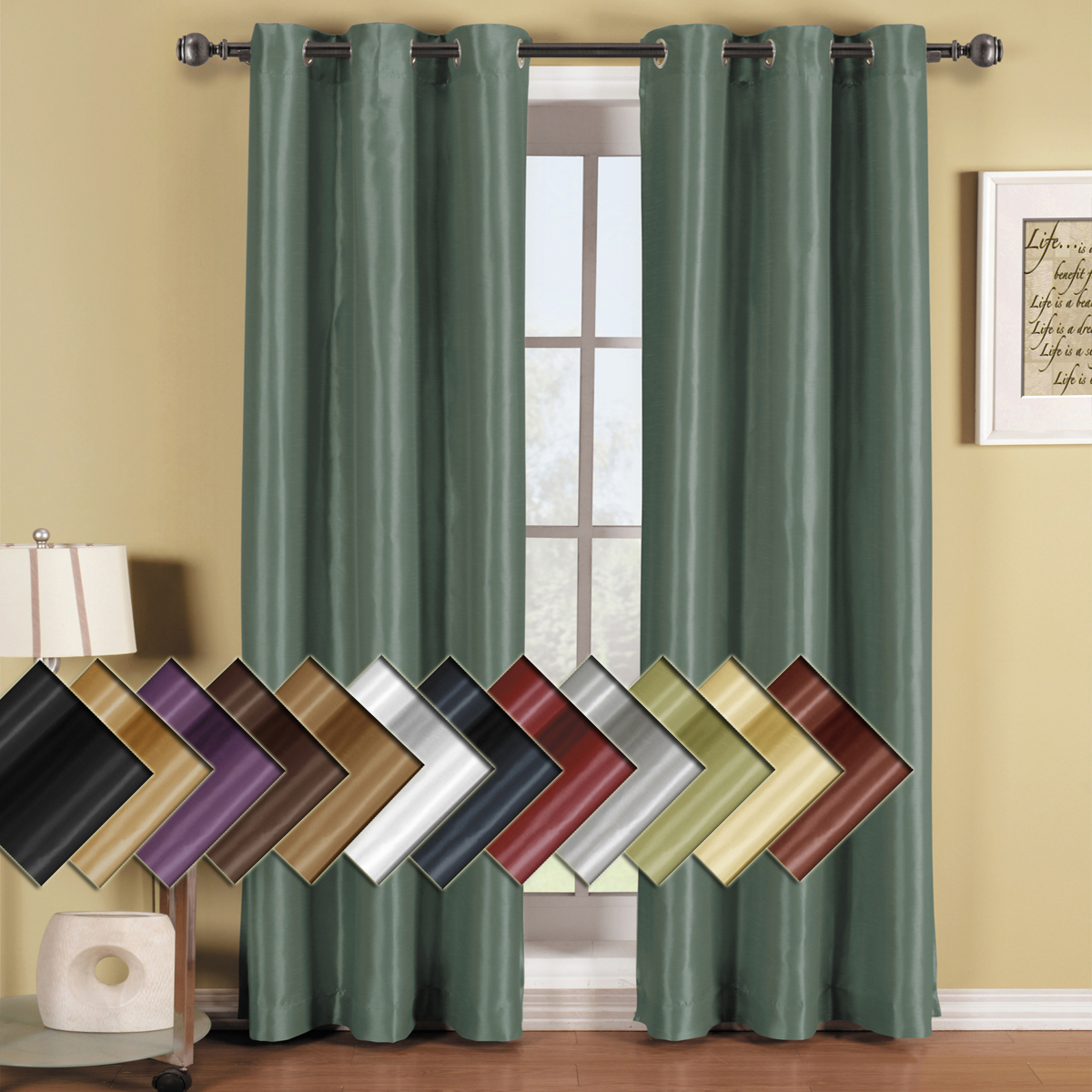 Thermal Curtains Cheap | Thermal Insulated Curtains | Thermal Backed Drapes