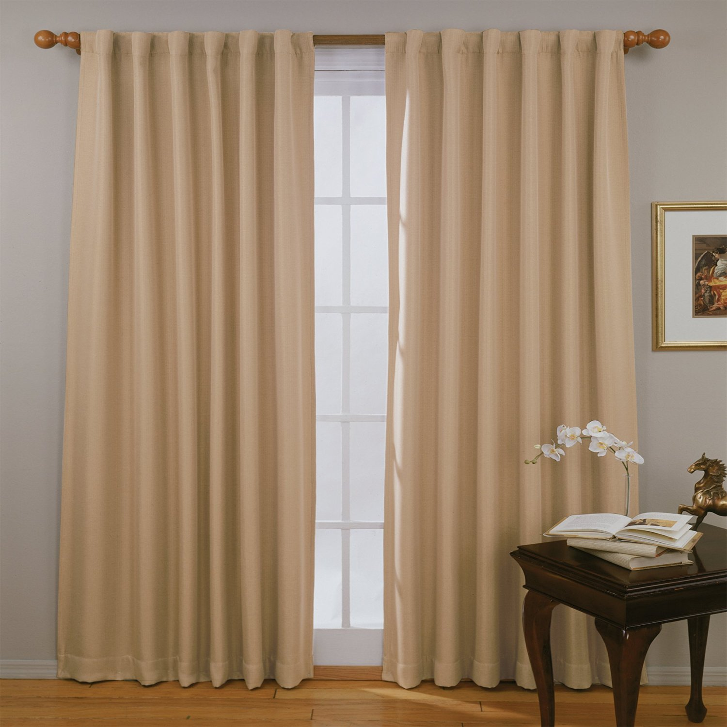 Thermal Curtains Grommet Top | Insulated Thermal Curtains | Thermal Insulated Curtains