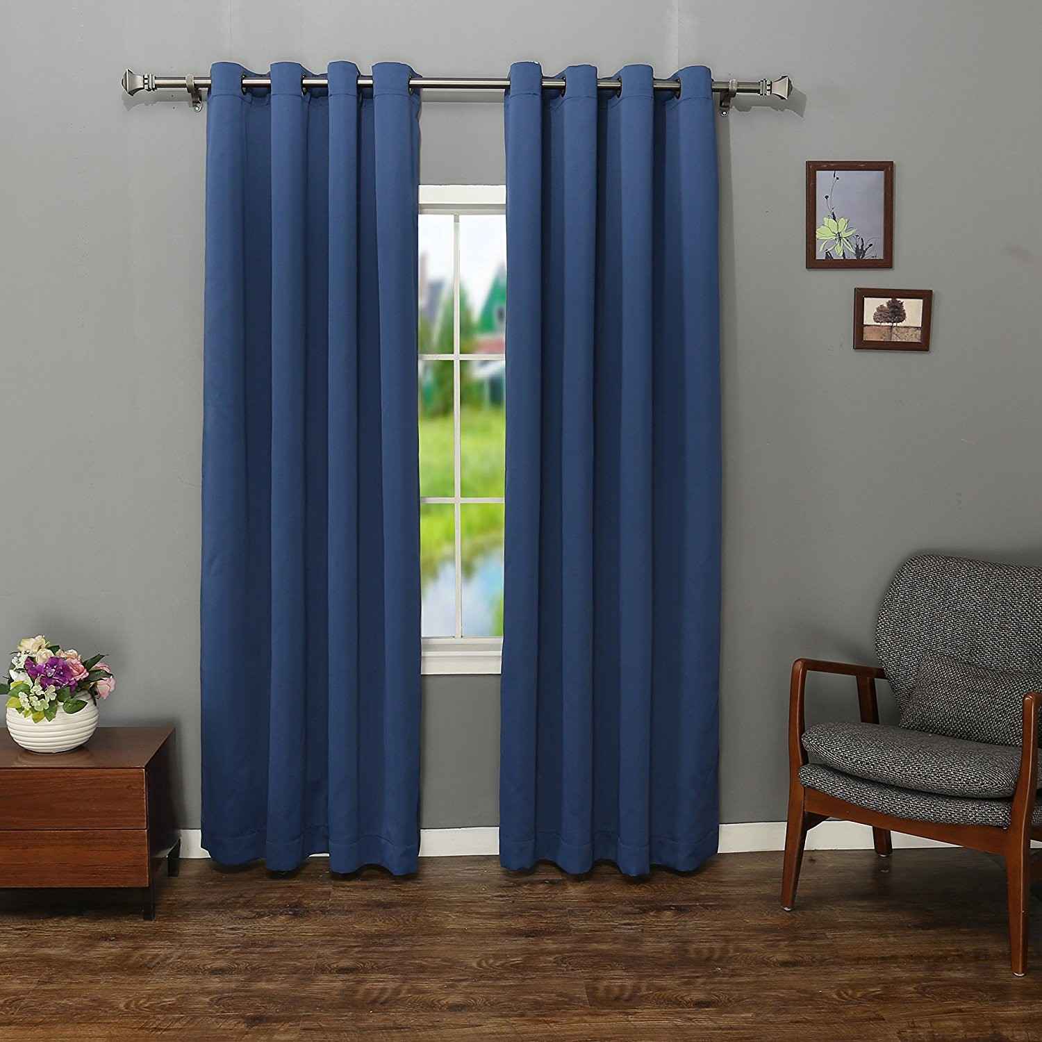 Thermal Insulated Curtains | Curtains Heat Insulation | Patterned Thermal Curtains