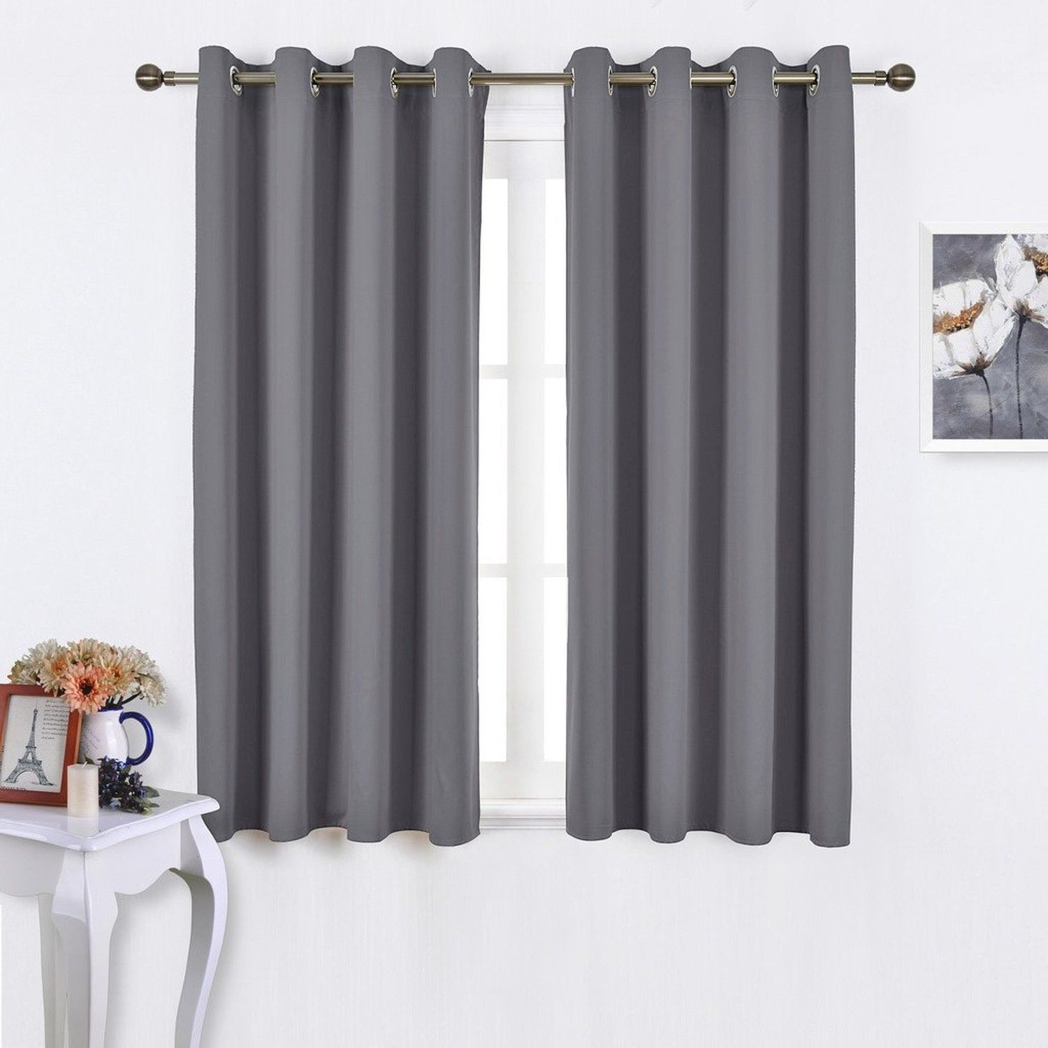 Thermal Insulated Curtains | Thermal Insulated Blackout Curtain | Solid Thermal Insulated Blackout Curtain