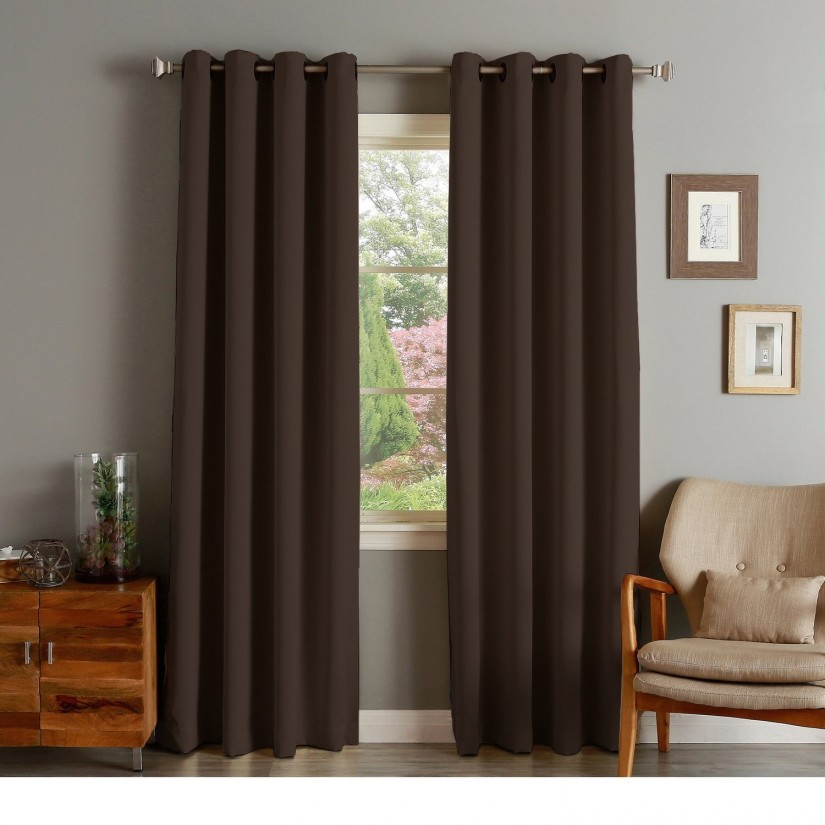 Thick Thermal Lined Curtains | Thermal Insulated Curtains | Insulated Drapes Clearance