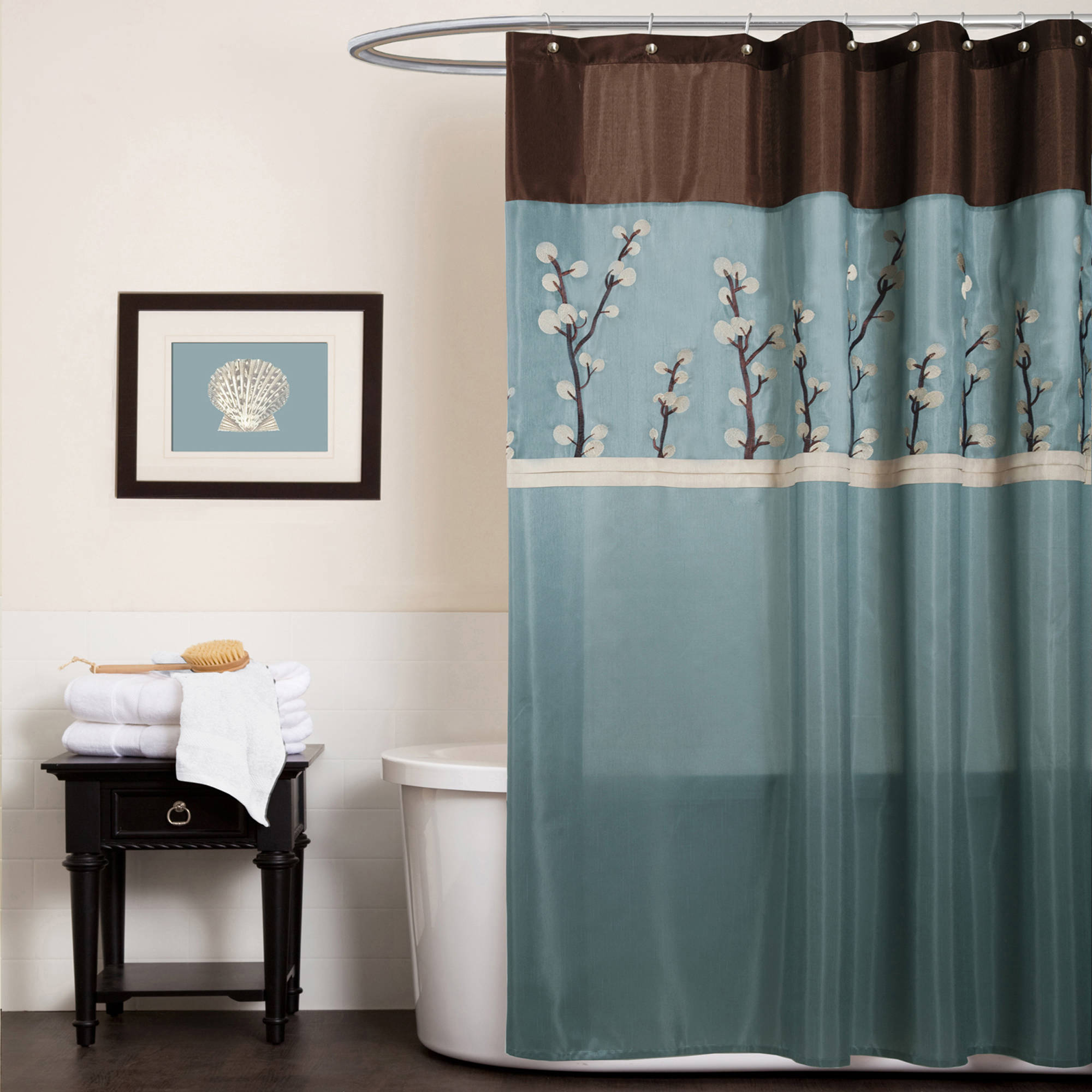 Threshold Shower Curtains | Funky Shower Curtains | Floral Shower Curtain