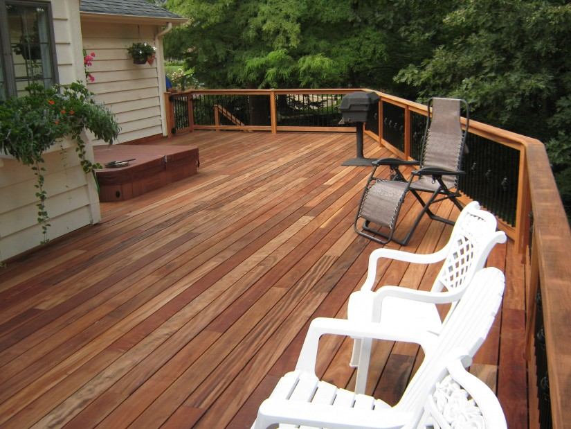 Tigerwood Decking | Cedar Deck Planks | Types Of Wood For Decking