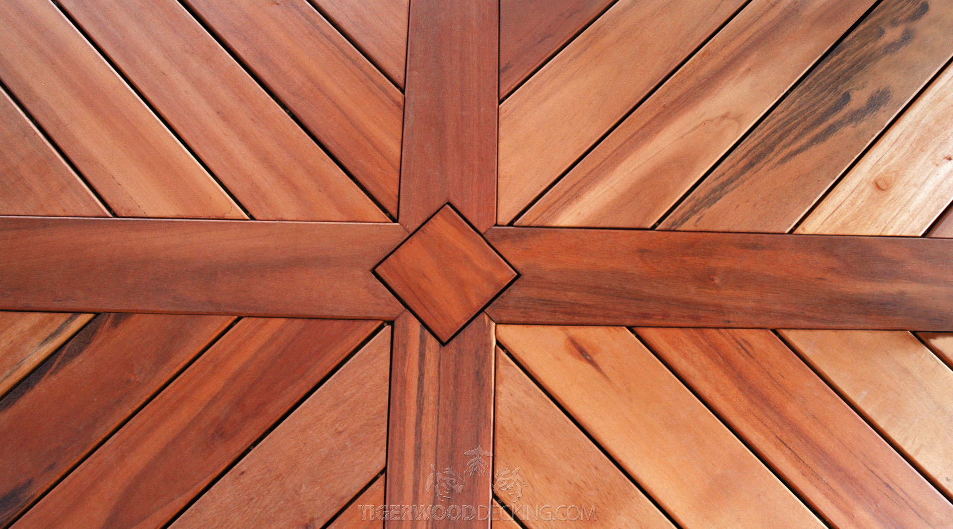 Tigerwood Decking | Composite Flooring for Decks | Types of Wood for Decking