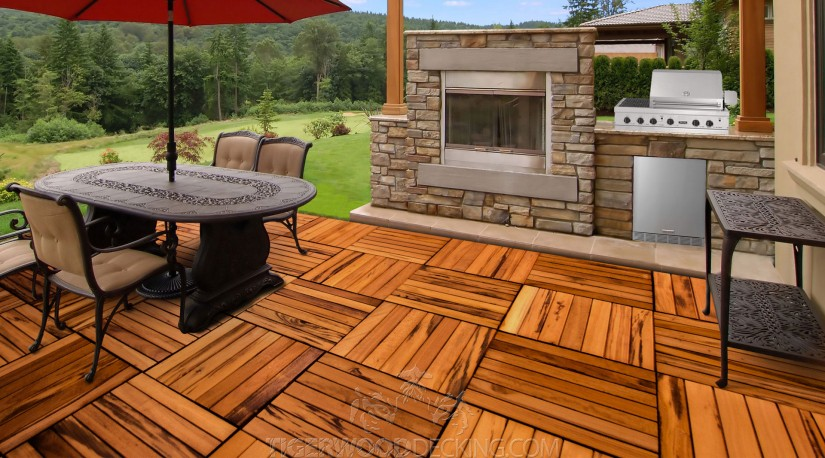 Tigerwood Decking | Types Of Wood Decking | Deck Board Options