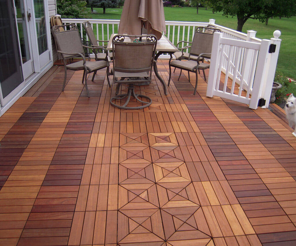 Tigerwood Decking | What Is The Best Decking Material | Hardwood Decking Boards