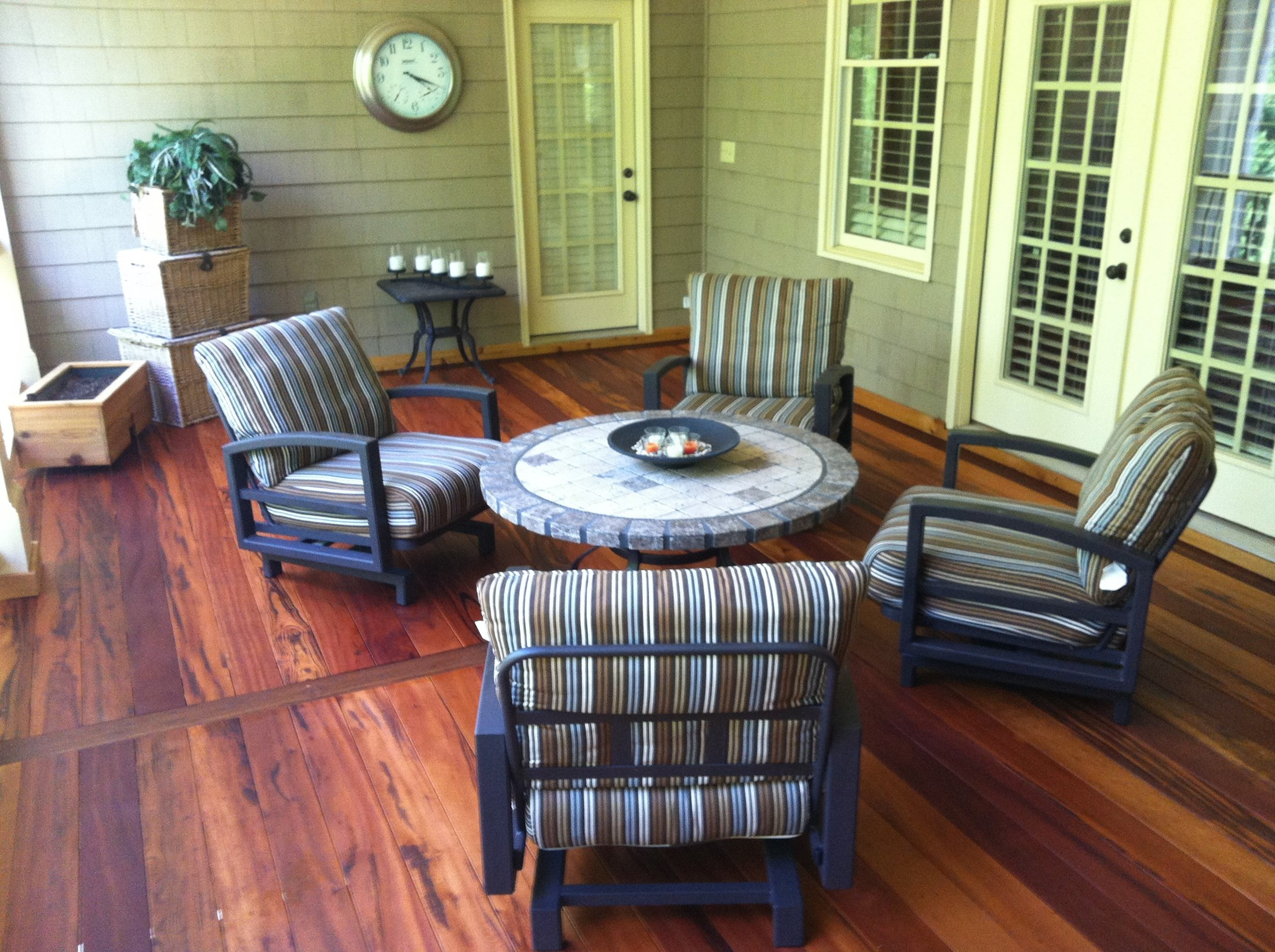 Tigerwood Decking | What Is The Best Decking Material | Tiger Wood Cabinets