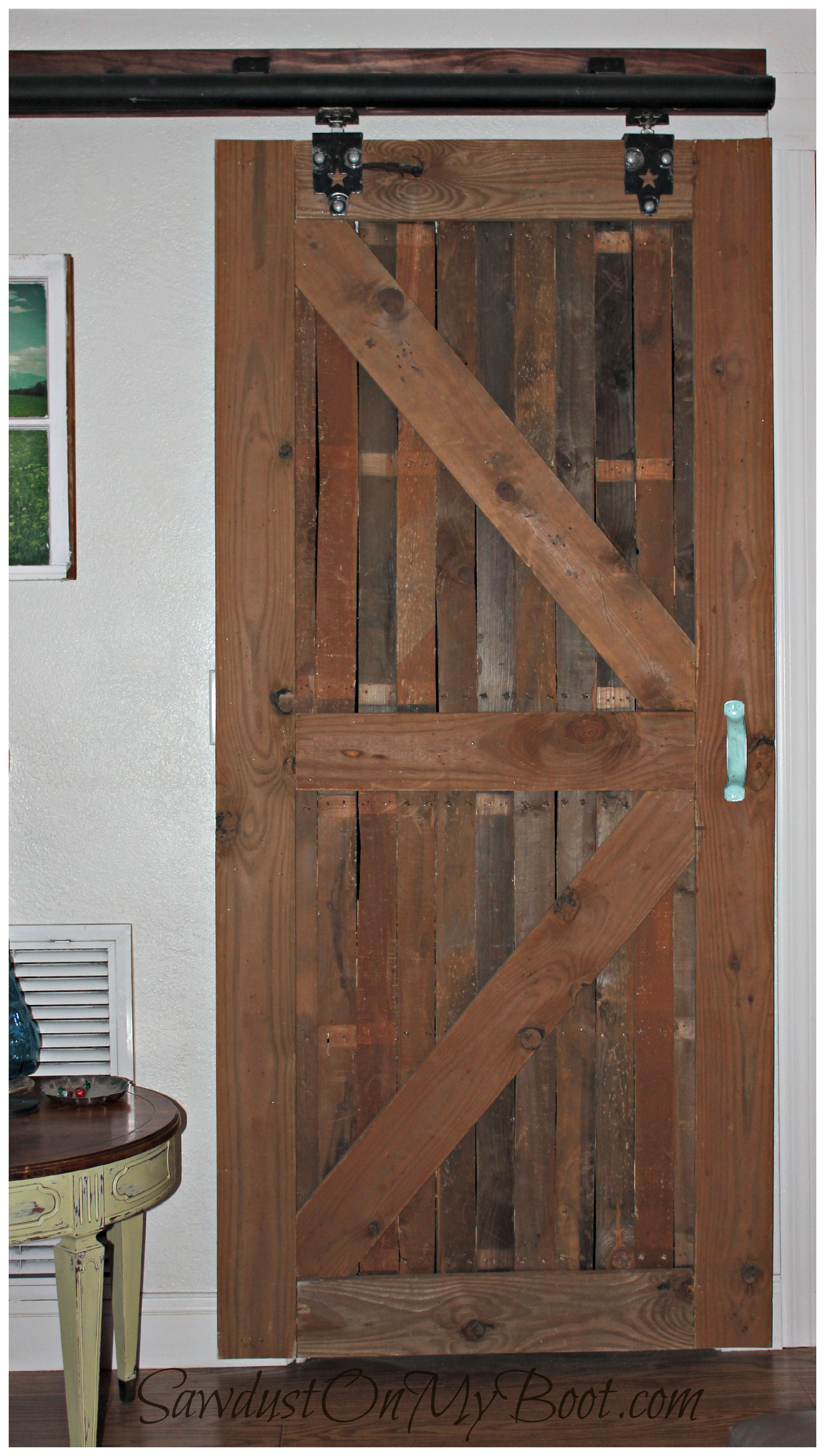 Tracks for Barn Doors | Distressed Barn Door | Bypass Barn Doors