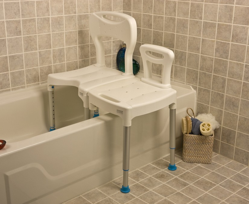Transfer Tub Bench | Shower Chair With Transfer Bench | Transfer Bench For Tub