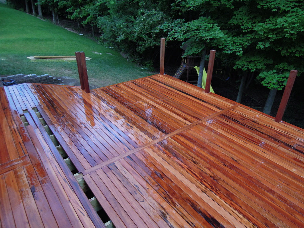 Treated Lumber for Decks | Tigerwood Decking | Treated Wood Decking