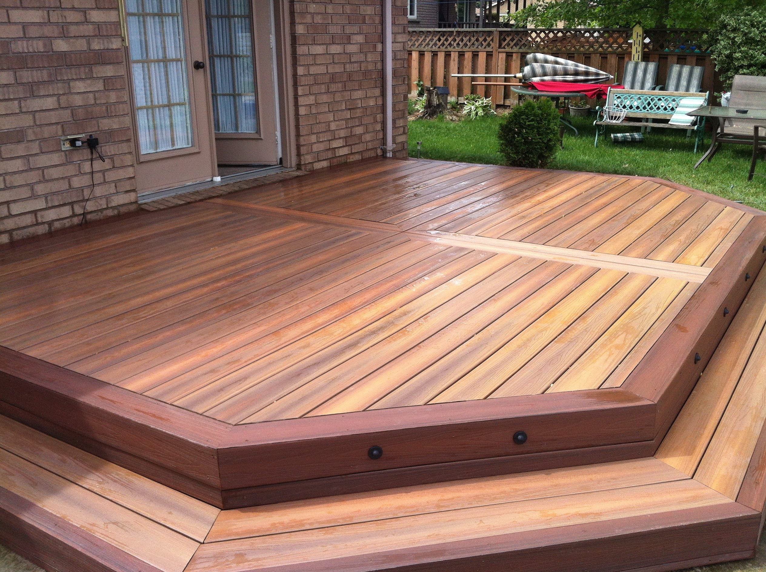 Trex Composite Wood | Home Depot Deck Installation | Installing Composite Decking