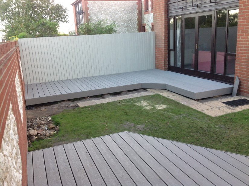 Trex Decking Stairs | Installing Composite Decking | Trex Decking Spacing