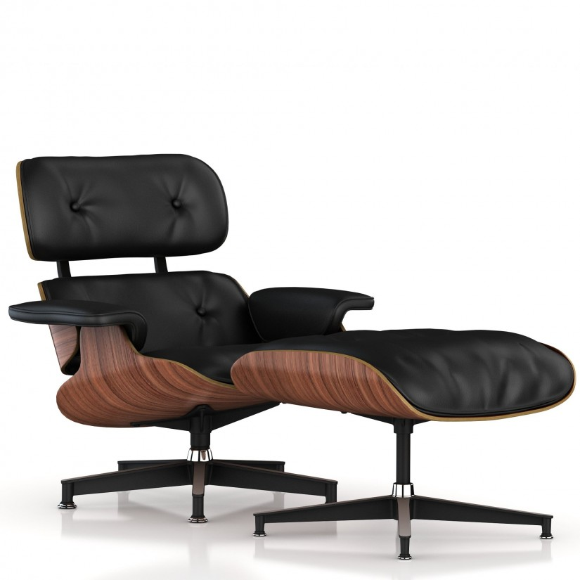Used Eames Lounge Chair And Ottoman | Black Eames Lounge Chair | Eames Lounge Chair And Ottoman