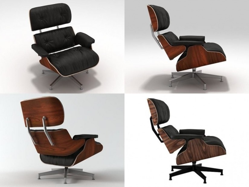 Used Eames Lounge Chair And Ottoman | Eames Lounge Chair And Ottoman | Herman Miller Eames Lounge