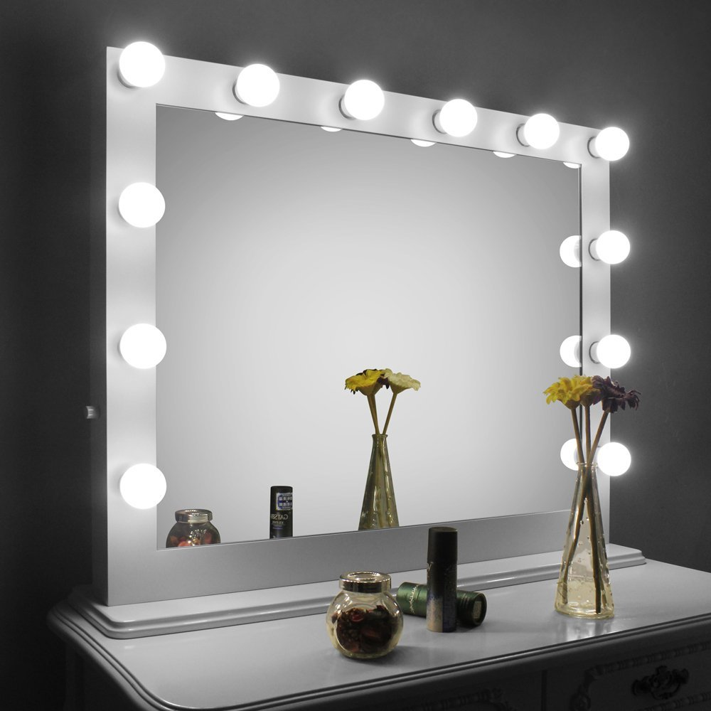 Vanity Girl Hollywood | Hollywood Vanity Mirror with Lights | Vanity Light Bulb Mirror