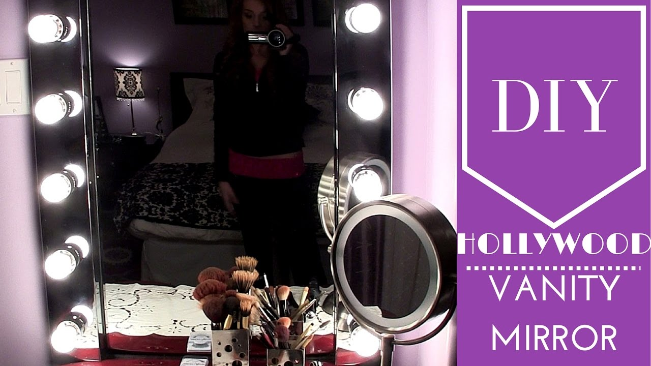 Vanity Light Bulb Mirror | Hollywood Vanity Mirror with Lights | Hollywood Glamour Mirror