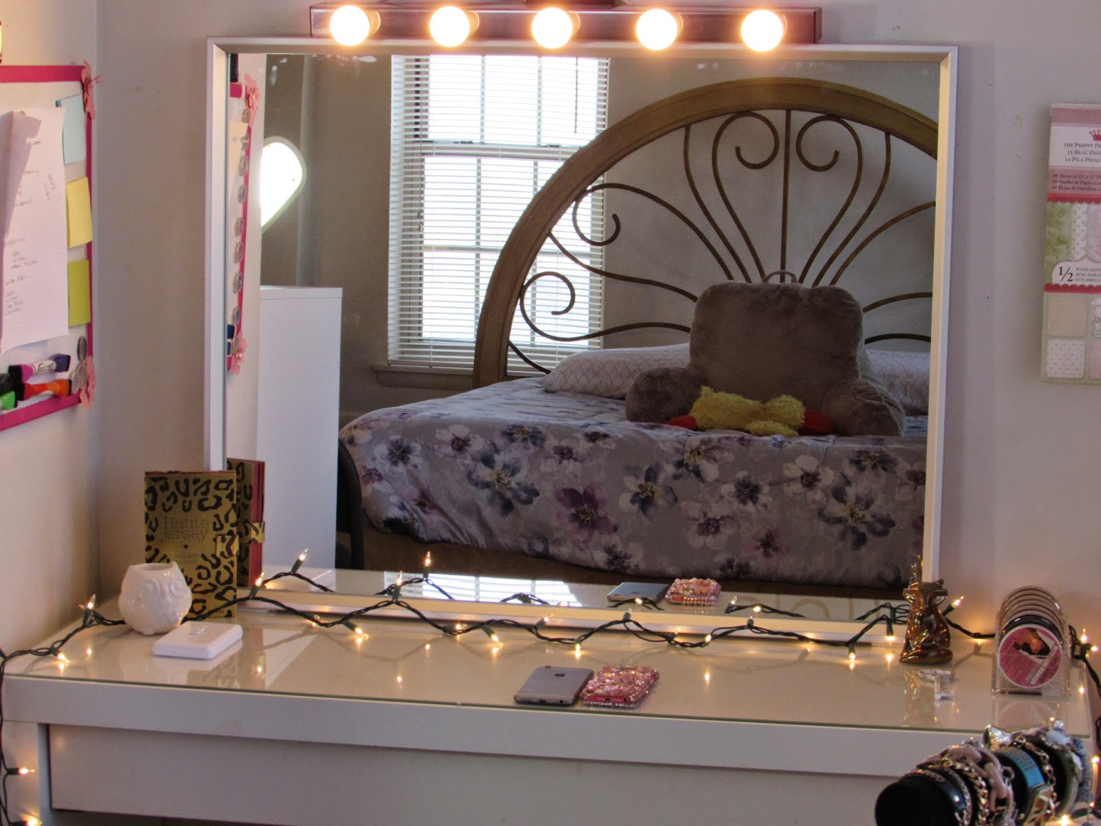 Vanity Makeup Mirror with Light Bulbs | Vanity Broadway Mirror | Hollywood Vanity Mirror with Lights