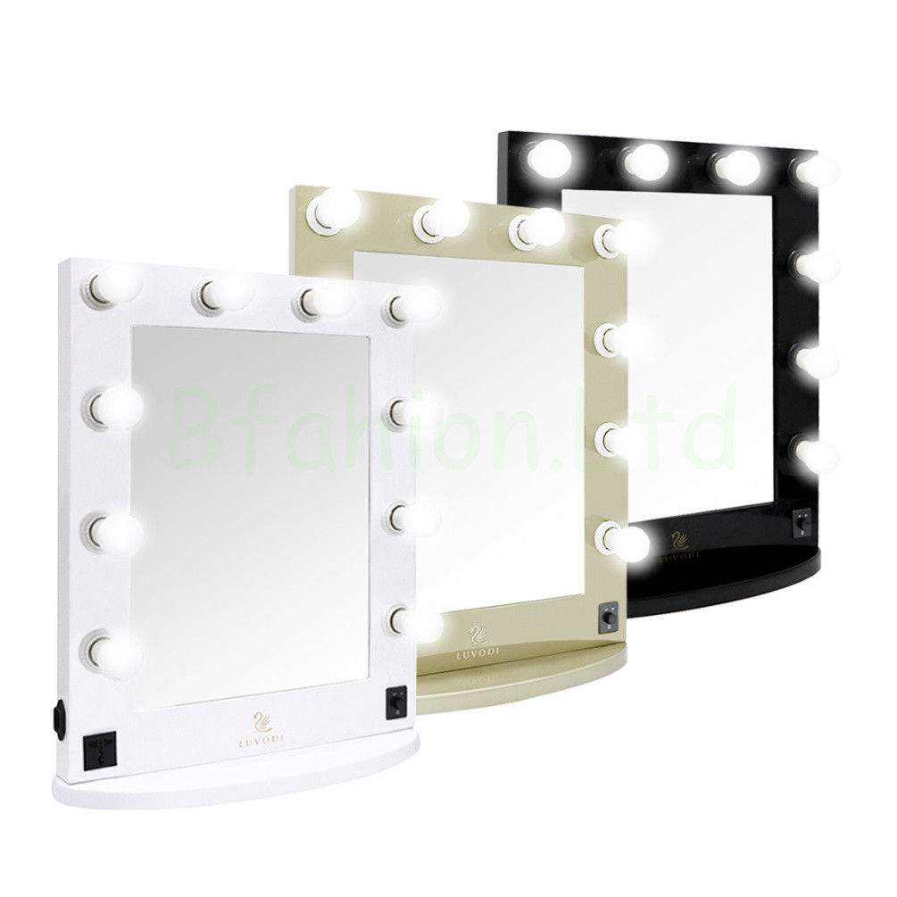 Vanity Makeup Mirrors with Lights | Hollywood Vanity Mirror with Lights | Vanity Table Lights Around Mirror