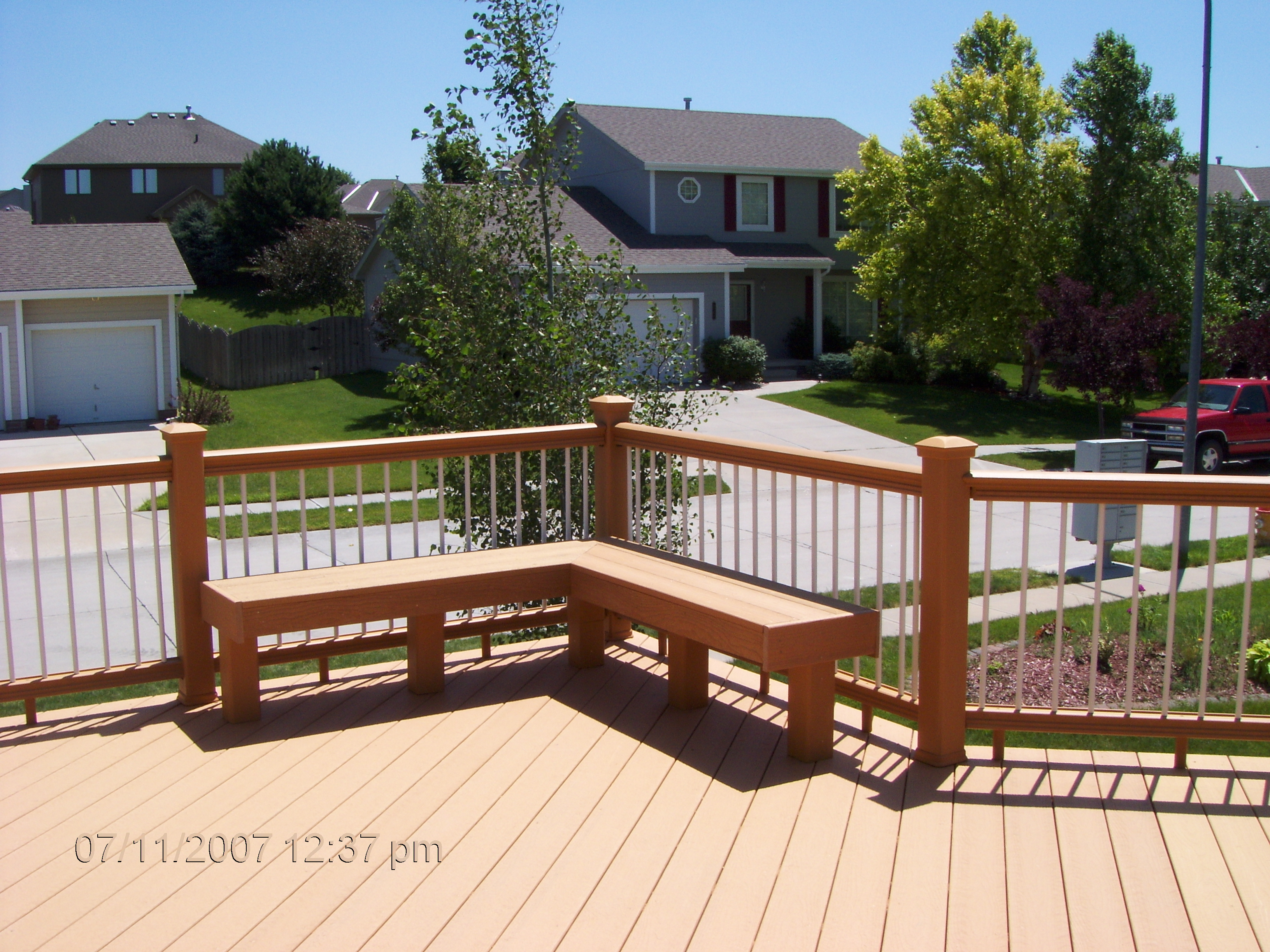 Veranda Composite Decking | Handrails at Home Depot | Fiber Composites Llc