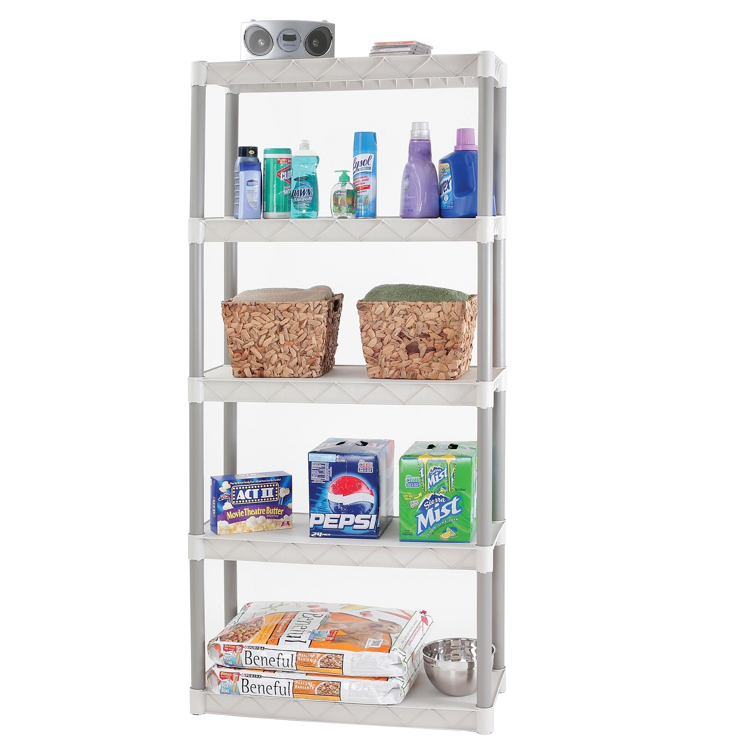 Walmart Shelving | Slim Shelving Unit | Bathroom Shelves at Walmart