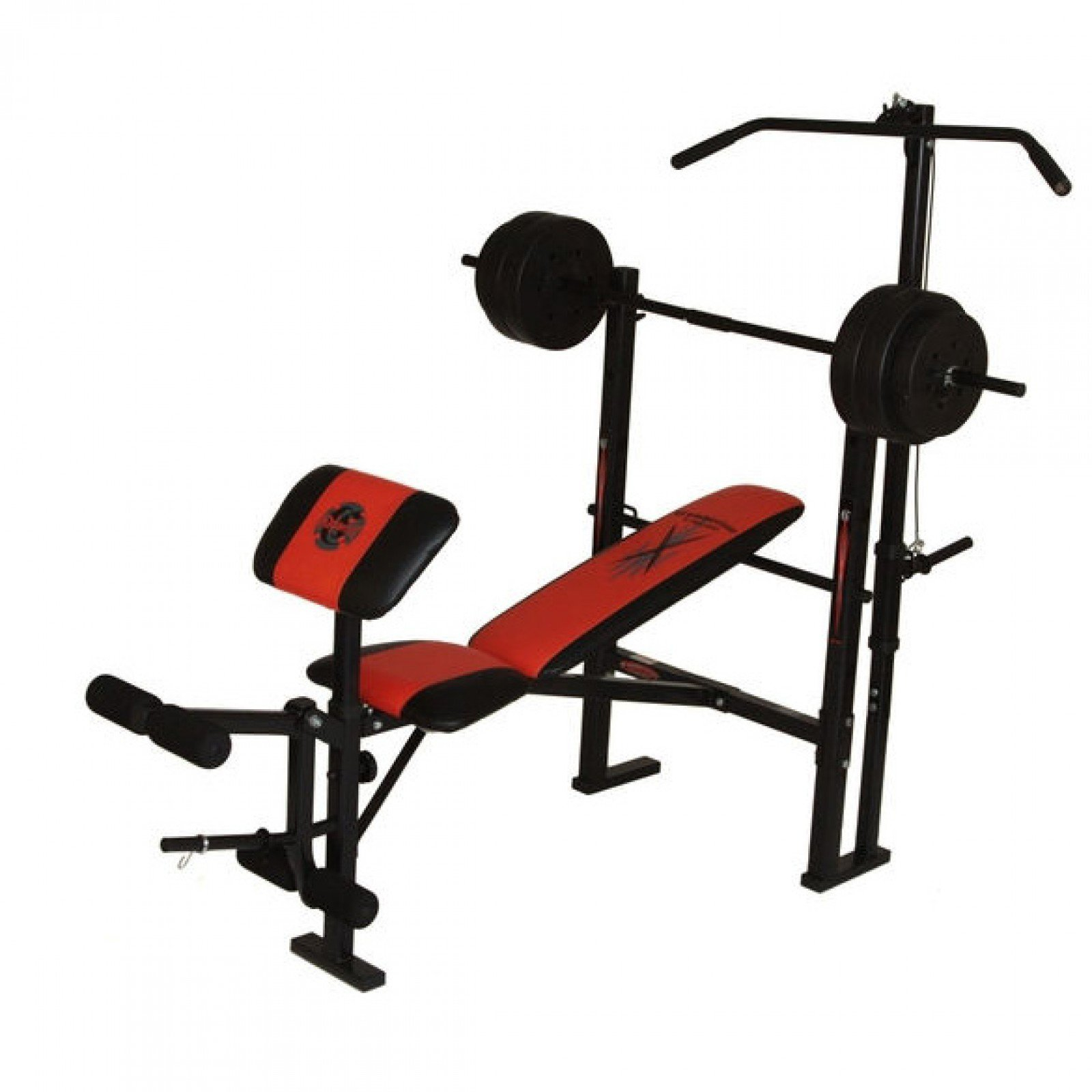 Weight Bench and Weights Set | Powerhouse Workout Bench | Powerhouse Weight Bench