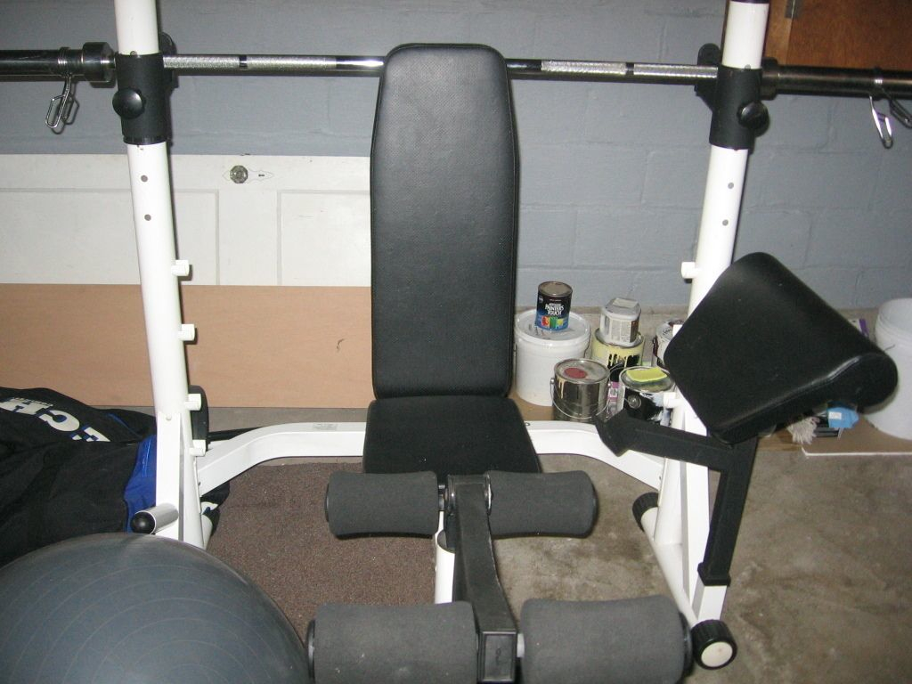 Weight Lifting Bench with Weights | Weight Bench Sports Authority | Powerhouse Weight Bench