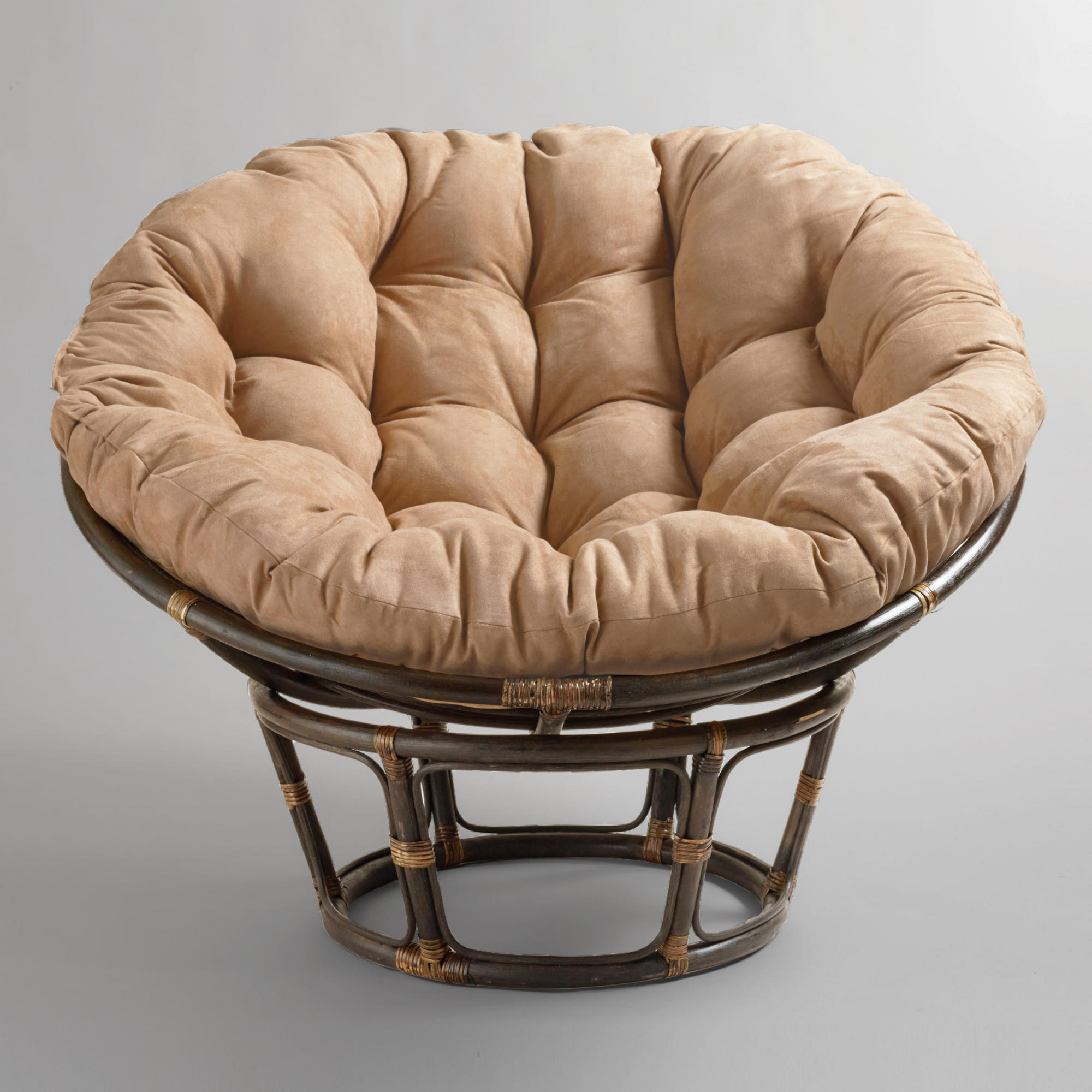 Wicker Glider Patio Furniture | Papasan Swivel Rocker Chair | Rattan Swivel Rocker