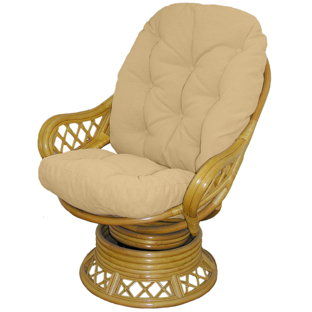 Wicker Glider Patio Furniture | Wicker Patio Glider | Rattan Swivel Rocker