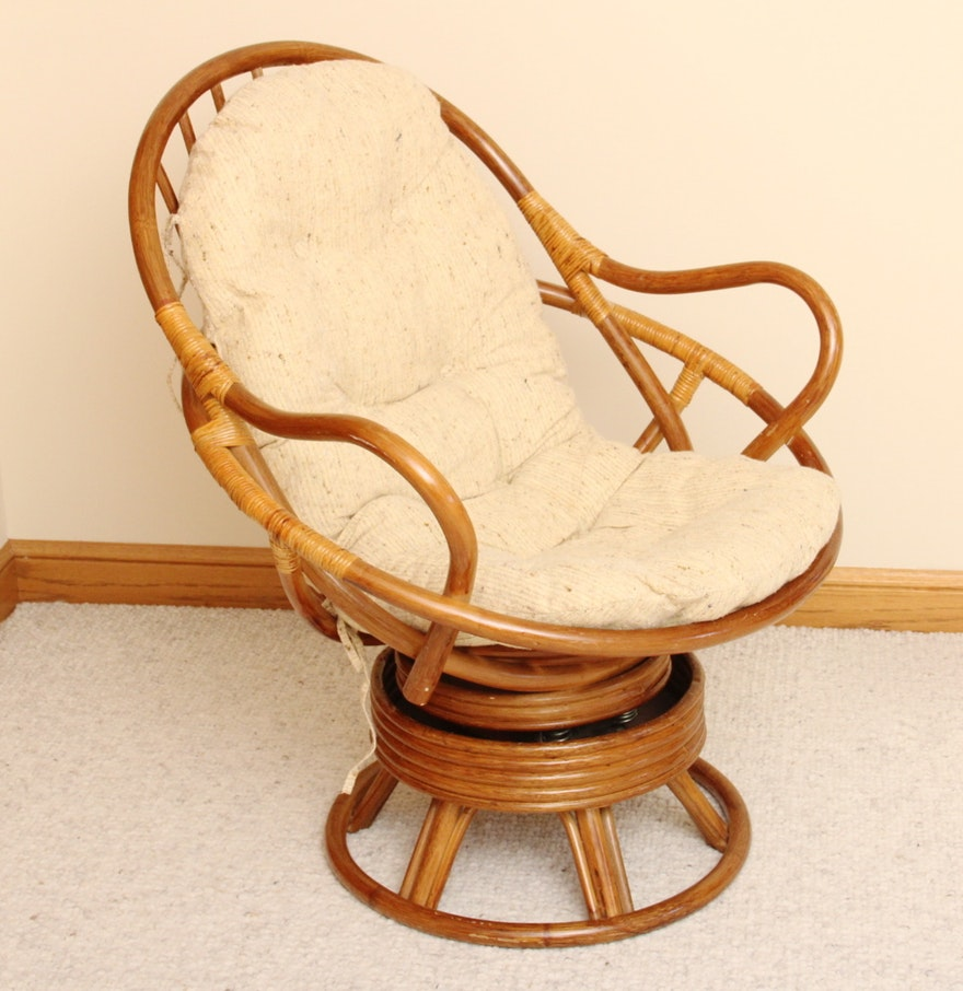 Wicker Rocker | Wicker Recliners | Rattan Swivel Rocker