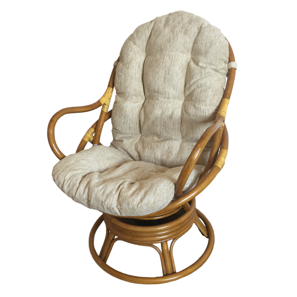 Wicker Swivel Chair | Rattan Swivel Rocker | Swivel Rocker Chair Cushions