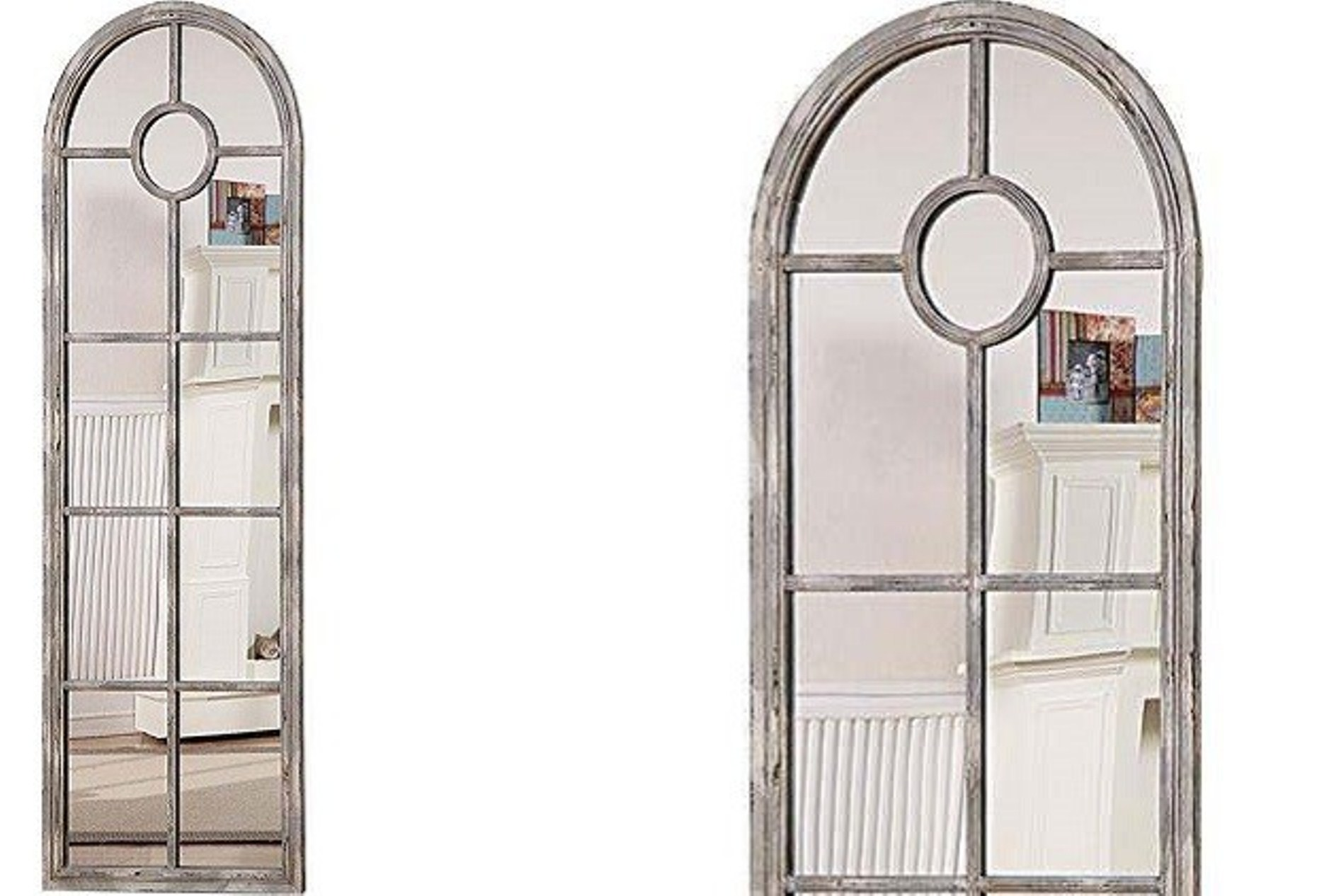 Window Pane Wall Mirror | Windowpane Mirror | Decorative Full Length Mirror