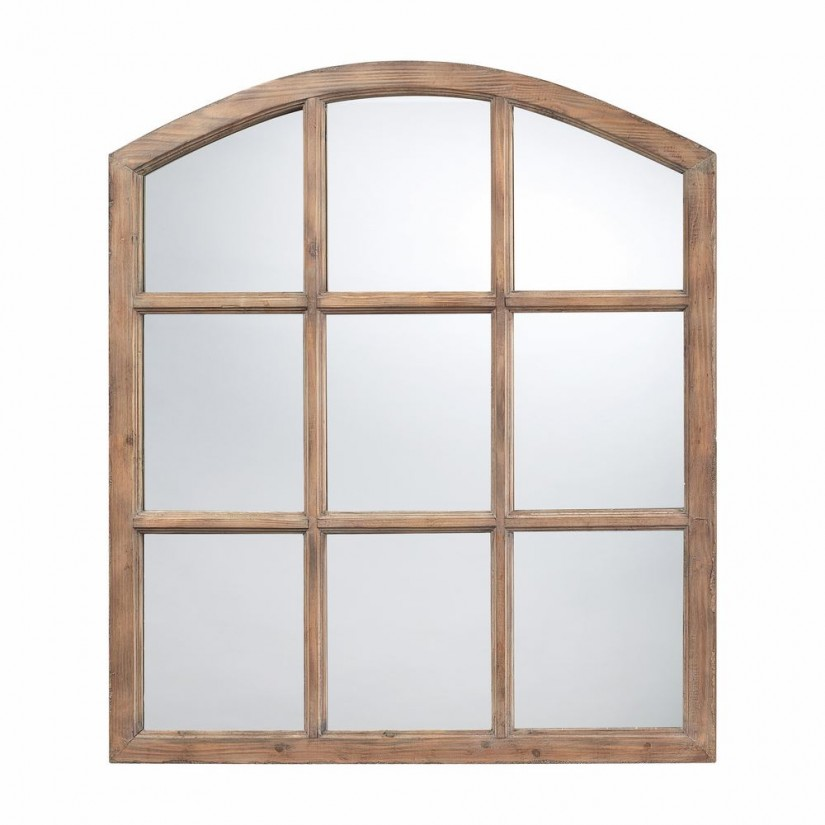 Windowpane Mirror | Decorative Full Length Wall Mirrors | Fancy Bathroom Wall Mirrors