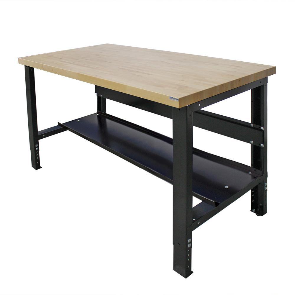 Wood Workbench Kit | Metal Workbench | Metal Workbench Drawers
