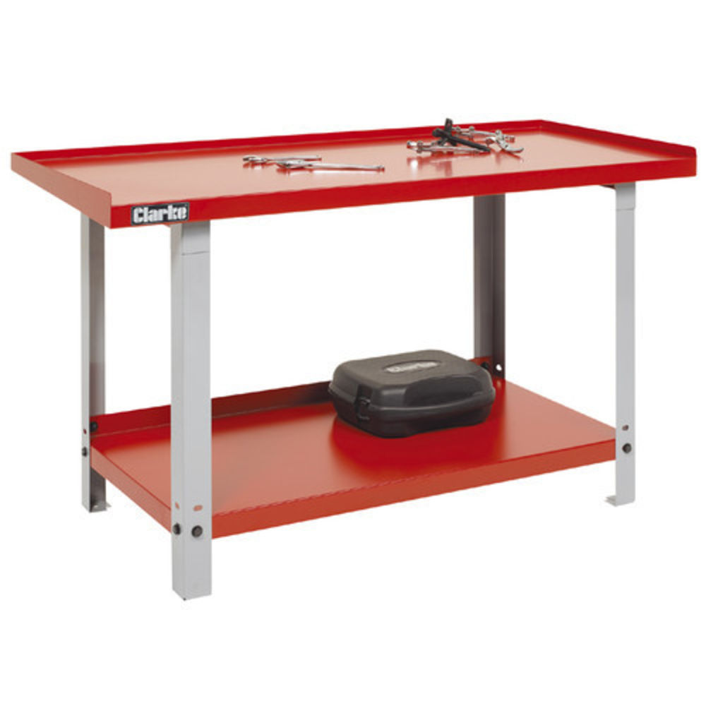 Work Bench For Garage | Heavy Duty Industrial Workbench | Metal Workbench