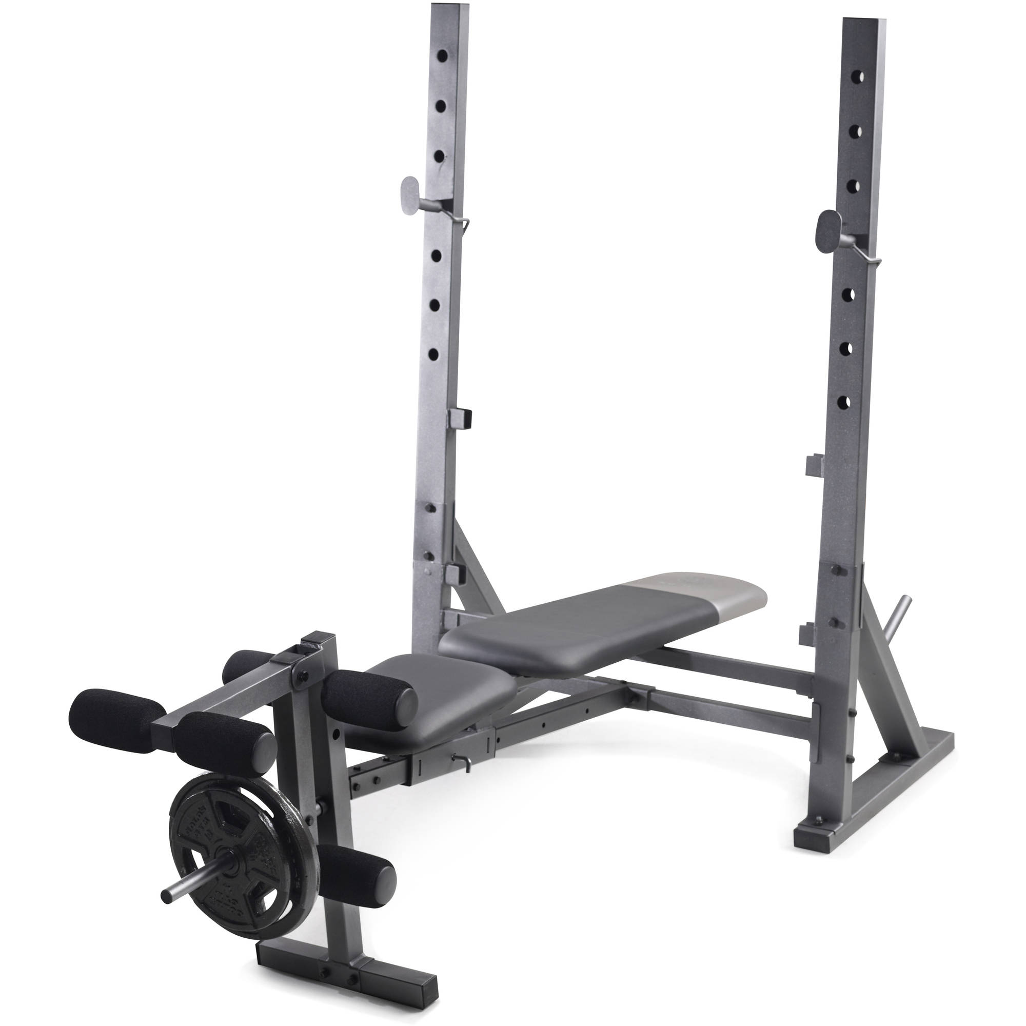 Ideas Olympic Weight Set Bench Used Weight Bench And Weights For
