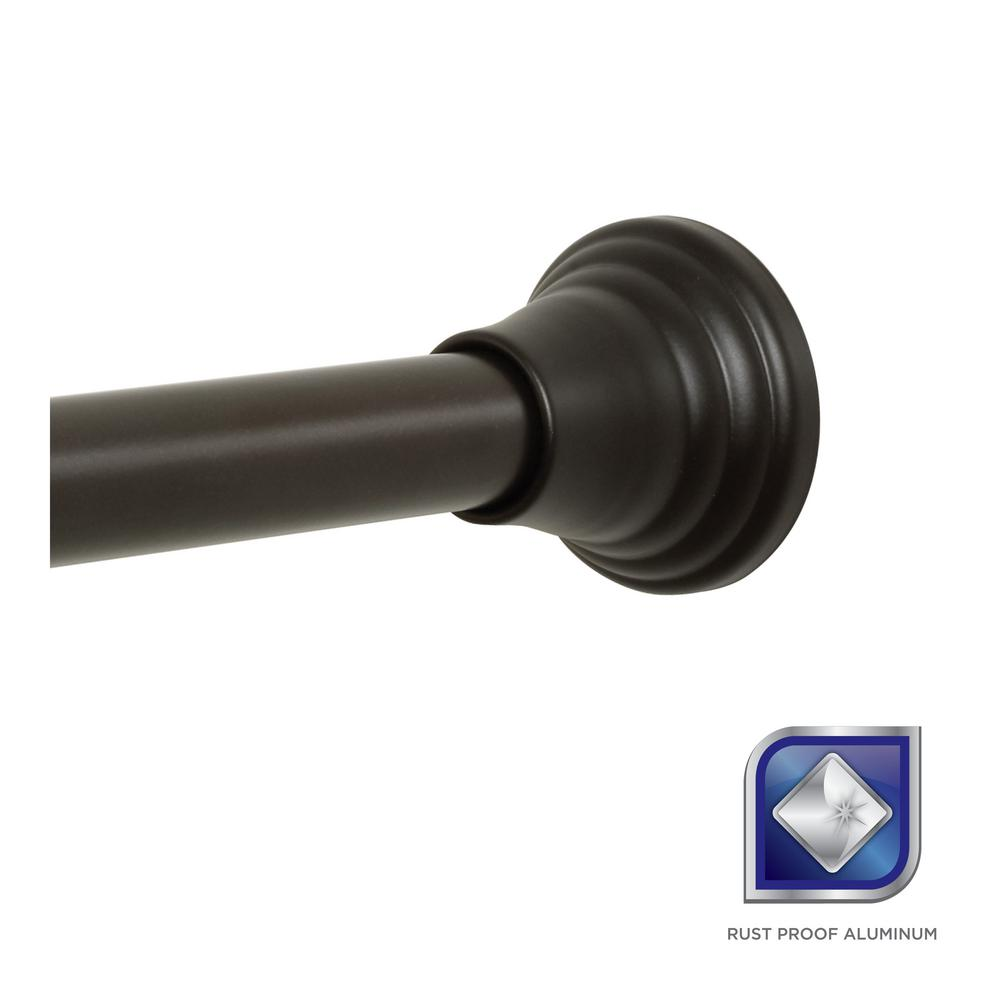 1 Inch Diameter Curtain Rod | Drape Rod | Bronze Curtain Rods