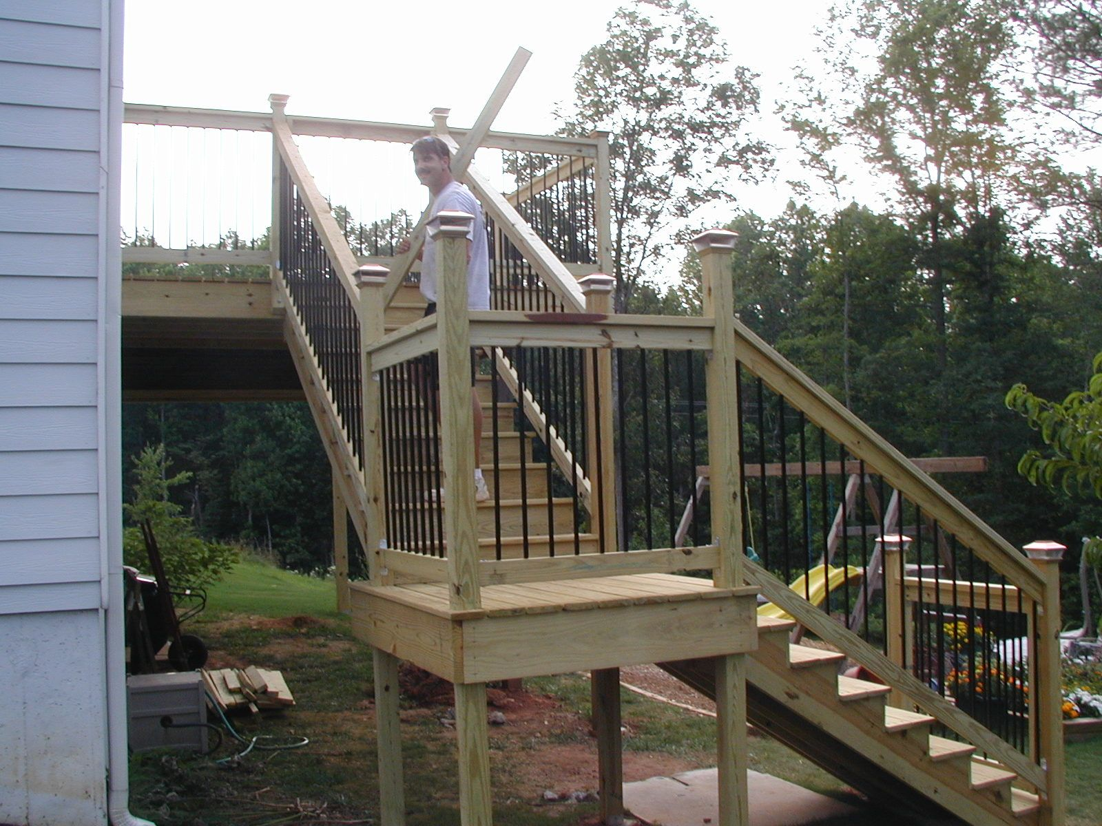 2x12 Stringers | Build Deck Stairs | Deck Treads
