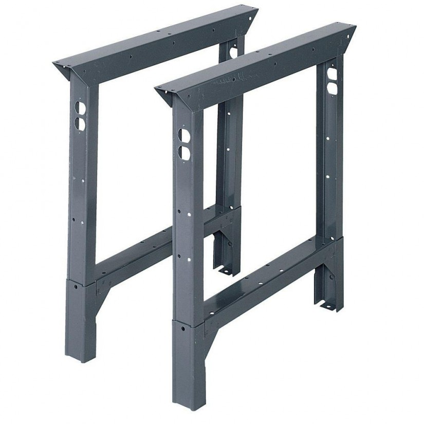 Adjustable Height Workbench Legs | Workbench Legs With Casters | Work Bench Legs