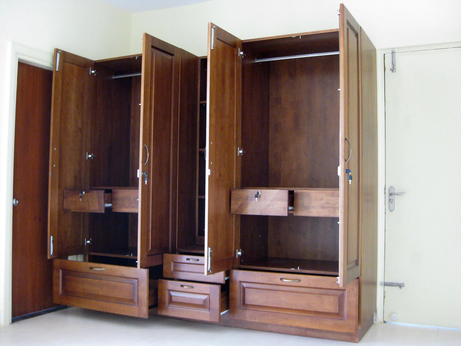 Armoire Storage Cabinet | Armoires for Hanging Clothes | Cheap Wardrobe Closet