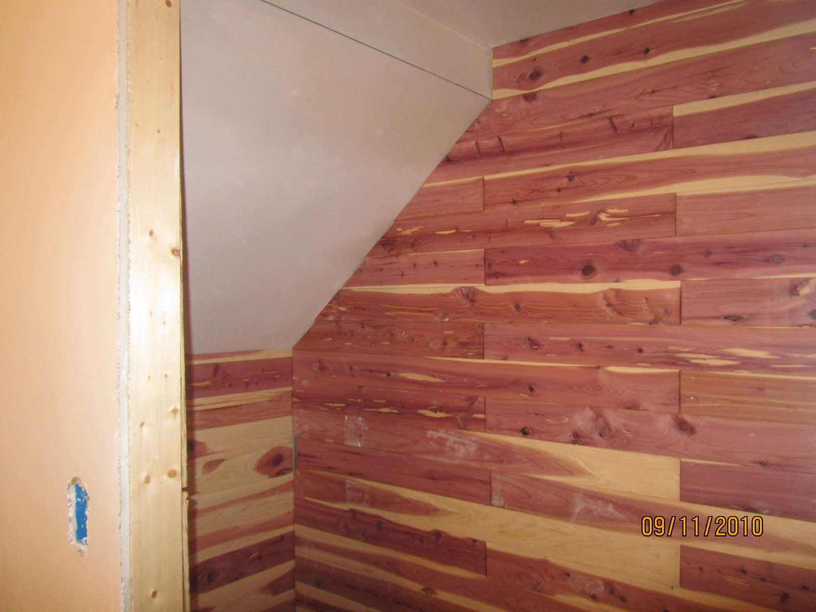 Aromatic Cedar Paneling | Lowes Cedar Planks | Cedar Closet Kit
