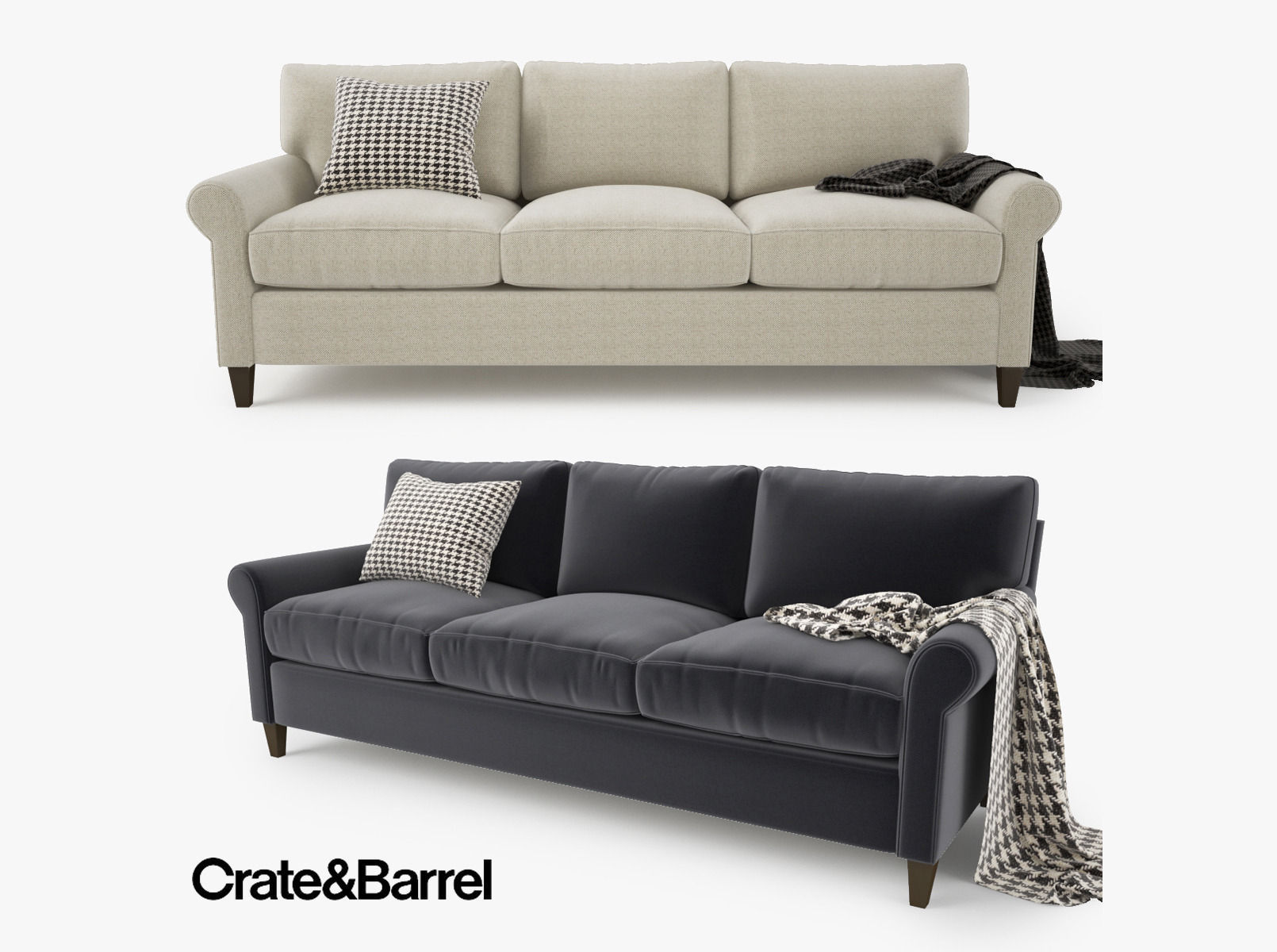 Axis Sectional Sofa | Crate and Barrel Couch Covers | Crate and Barrel Couch