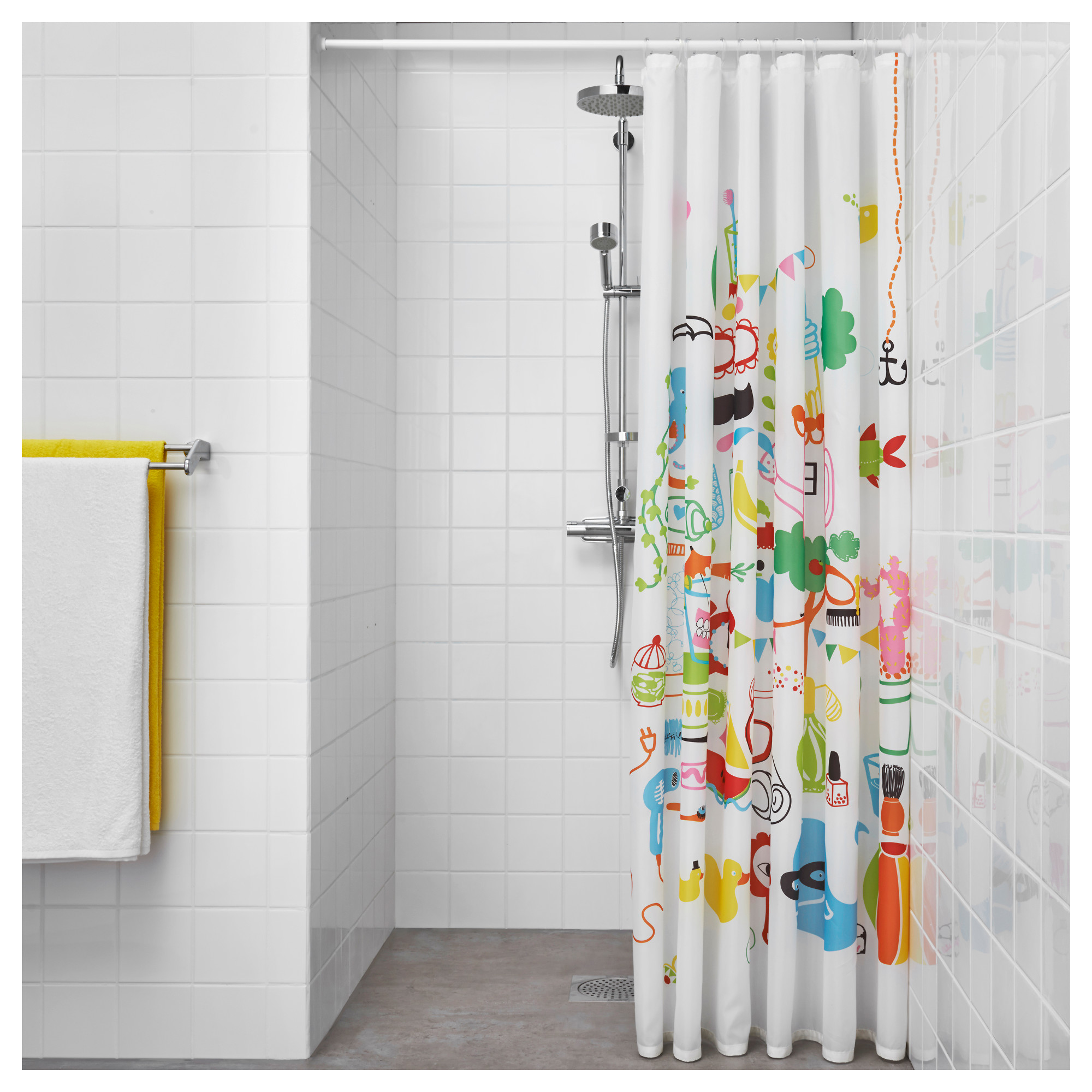 Ikea Shower Curtain for Best Your Bathroom Decoration: Bathroom Curtain Rods | 84 Shower Curtains | Ikea Shower Curtain