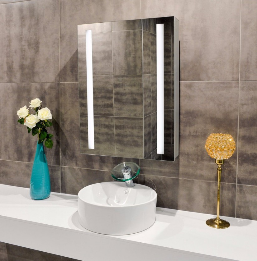 Bathroom Mirrors That Light Up | Lighted Wall Mirror | Wall Mounted Lighted Vanity Mirror
