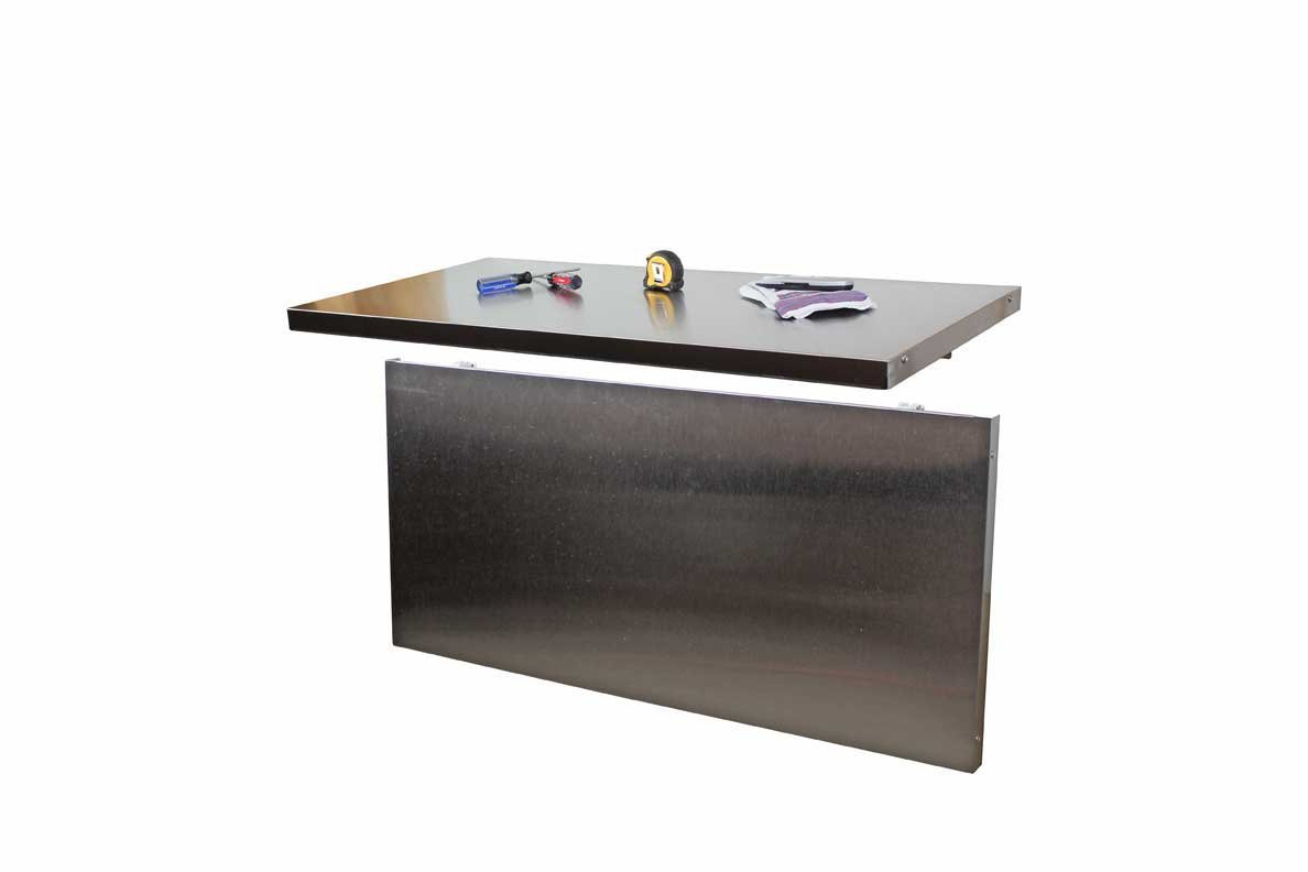 Wall Mounted Folding Workbench for Exciting Workspace Furniture Ideas: Bench Solutions Fold Away Workbench | Wall Mounted Folding Workbench | Collapsable Work Bench