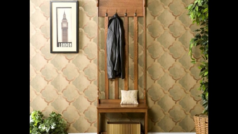 Bench With Coat Hooks | Entryway Storage Bench With Coat Rack | Bench With Shoe Storage And Coat Rack