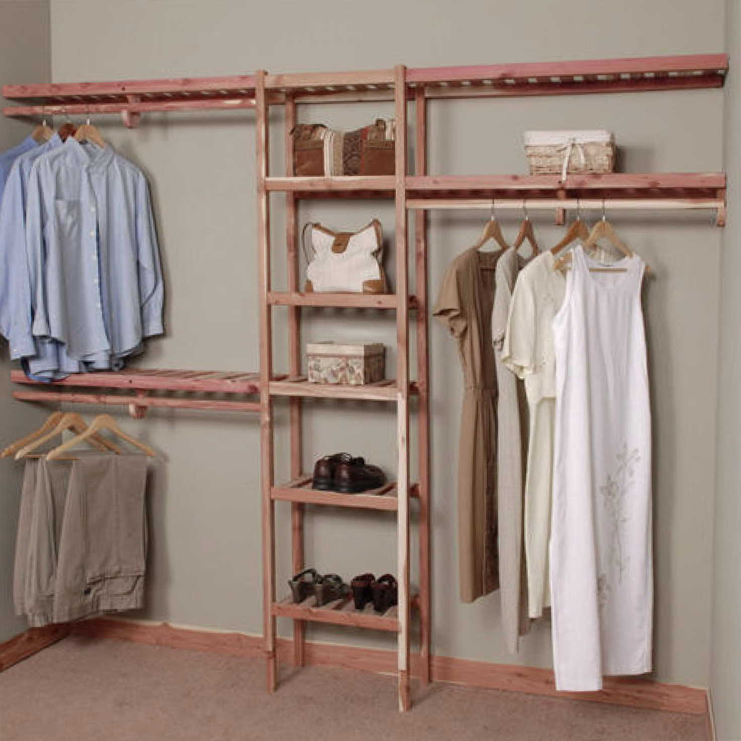 Inspiring Storage System Design Ideas with Cedar Closet Kit: Benefits Of Cedar Closet | Cedar Planking | Cedar Closet Kit