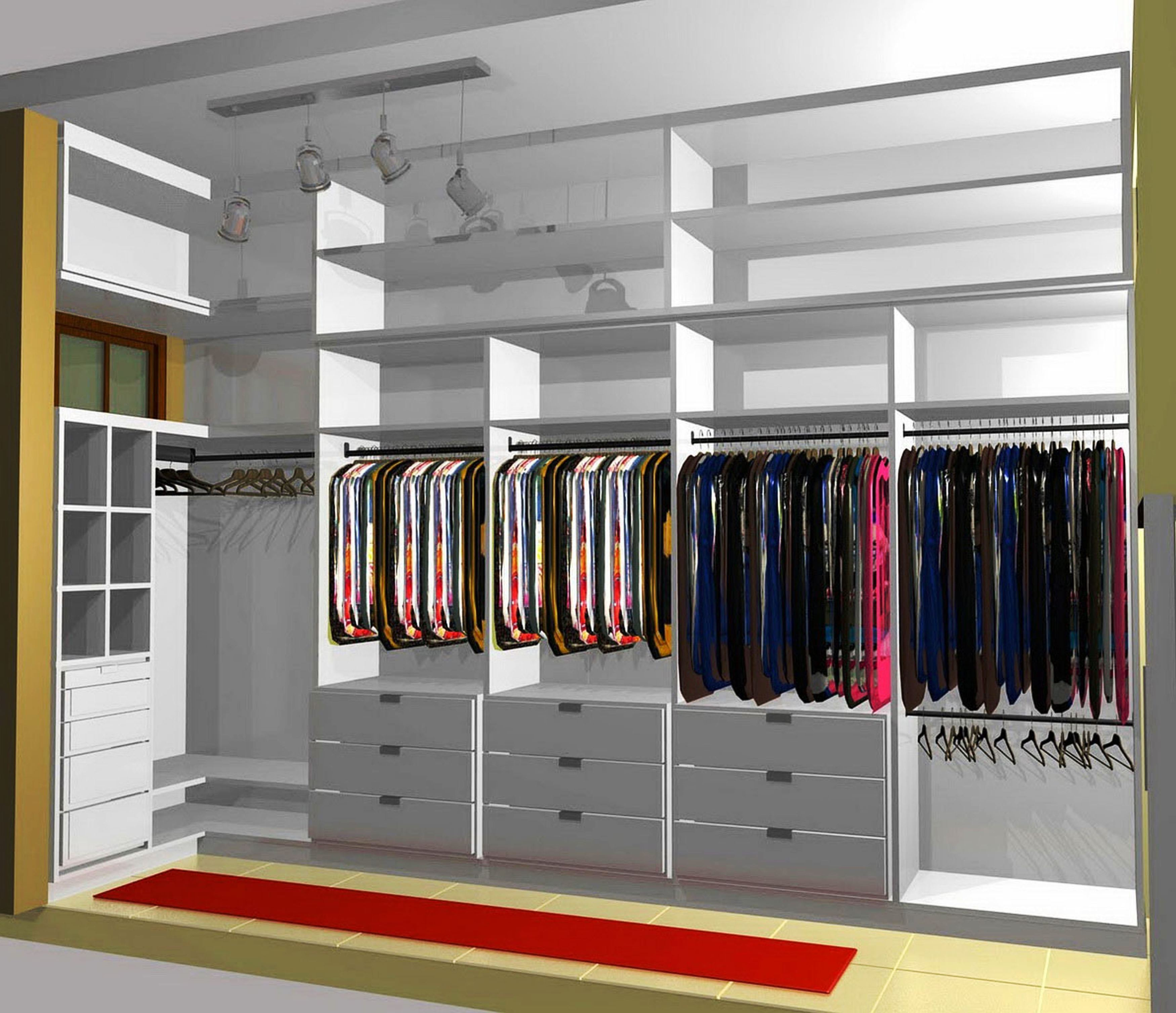 Best Small Walk In Closet Design | Diy Walk In Closet | How To Organize A Walk In Closet